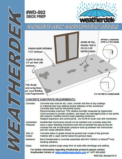 How to install Vinyl Decking Membrane | Weatherdek