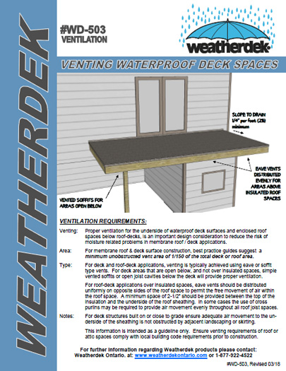 How to install Vinyl Decking Membrane | Weatherdek